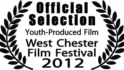 The Official Selection certificate for Deadly Notes from the 2012 West Chester Film Festival