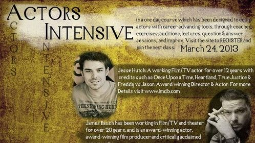 Come & learn from @Jesse_Hutch how to be an #actor A life changing #ActorsIntensive http://www.setapartacting.com/  #Acting pic.twitter.com/JCNo9xlD9l