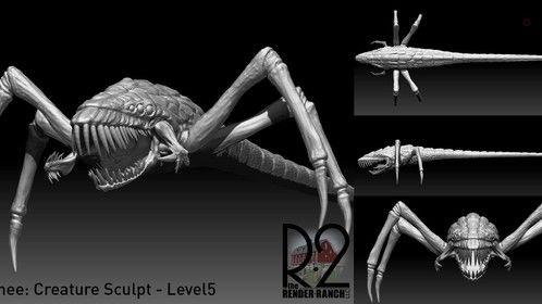 Creature Sculpt WIP