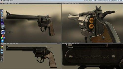 New West - Gun 1 Model