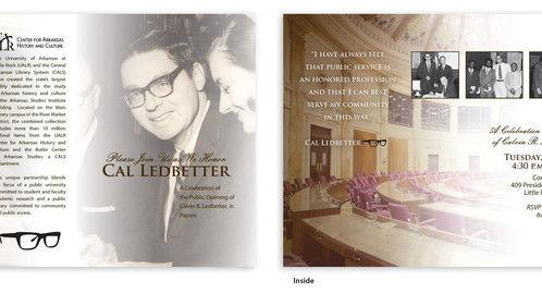UALR Ledbetter event invitation