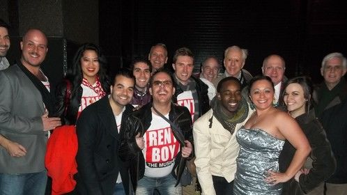 Cast & crew of Rentboys the Musical