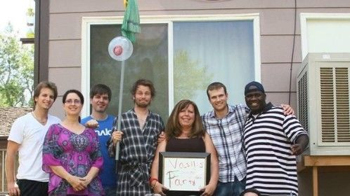 It's a wrap!  The Girlfriend Lies gang!  June 2012.  A great time was had by all!
