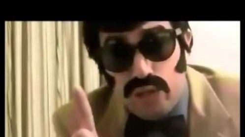 Me as Tony Clifton from an enactment of the unmade film, The Tony Clifton Story
