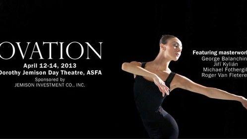 For an Alabama Ballet performance. Photo by Arik Sokol