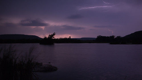 Thunderstorm at Independence Creek.