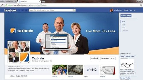 TaxBrain Facebook Banner
