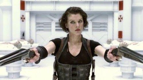 Resident Evil - Double barrel shotguns