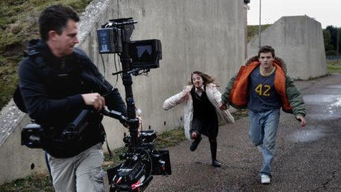 Steadicam shot with Jason Ewart, Maia Elsey and Finn Morrell.