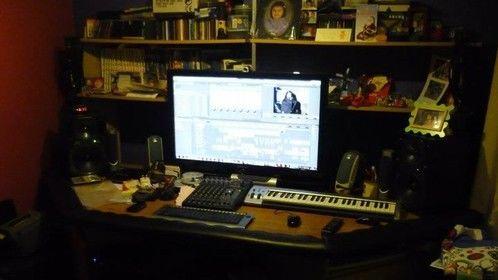 My Audio/Video recording studio...