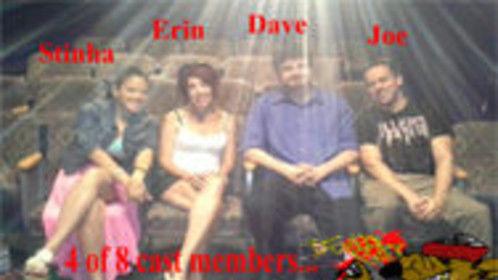 Four cast members of The Dead Rat Magazine Show-2013 season