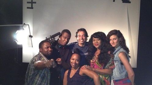 WeAreColorBlind Commercial set