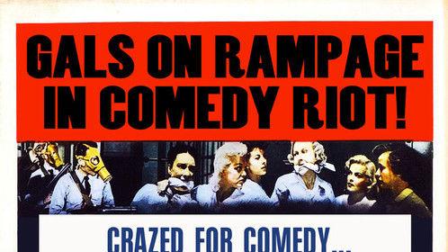 poster design for comedy show