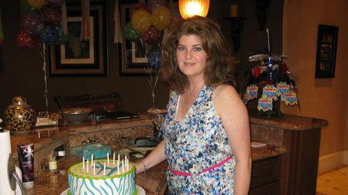Celebrating a birthday ~ May 2012