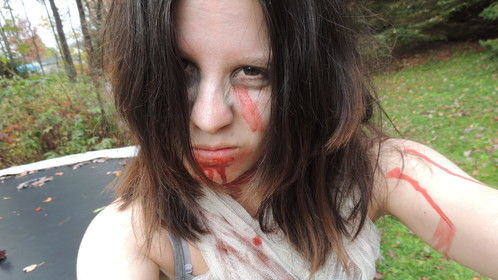 zombie makeup!