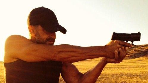 Shooting practice in Idaho