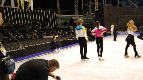 shooting South Korean figure skating champion Kim Yu Na for Discovery