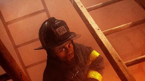 The Fireman (Lieutenant Casper) in Self-Deportation.