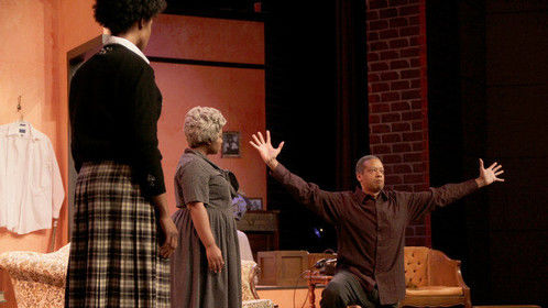"""Walter Younger in """"A Raisin in the Sun""""."""