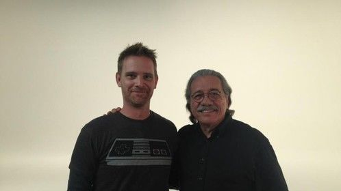 Me and Admiral Adama!