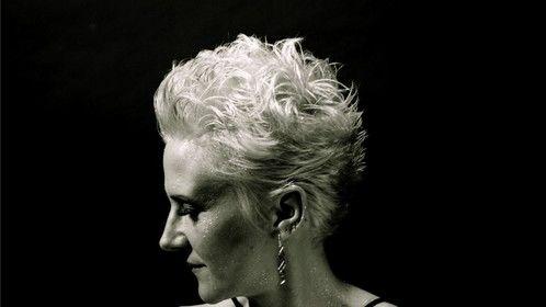 black and white version Hairstylist / Colorist - Adriane L Beveridge MUA Kate Wylde Productions Photographer - Stephanie Hnida Model: Brenda Reed Rajkovich