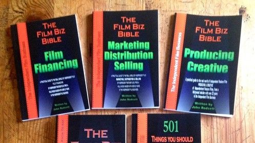 Finally after three years of writing, I have all five of my independent film business books published. I hope the help aspiring independent filmmakers and producers