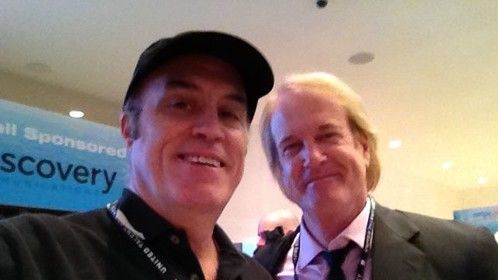 John Tesh and I at NATPE 2014