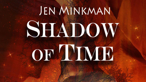 The new cover for my debut novel Shadow of Time