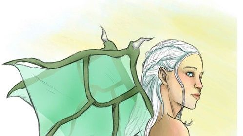 Dany, from Game of Thrones.