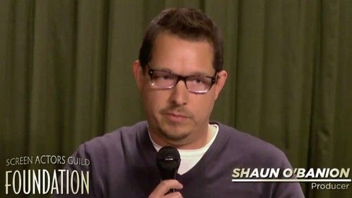 Shaun O'Banion speaks at the SAG Foundation in 2014 on Post Production. The panel was moderated by Kelly Thomas (Juntobox Films) and also featured Producer Sebastian Dungan (TRANSAMERICA, INEQUALITY FOR ALL) and Film Editor Jeff Castelluccio (GIRLFRIEND, THE AUTOMATIC HATE).