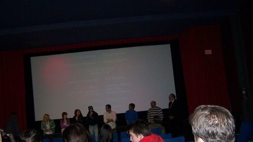 Media Q&A with the actors, producers and the writer which of course was yours truly. I was nervous to sat the least.