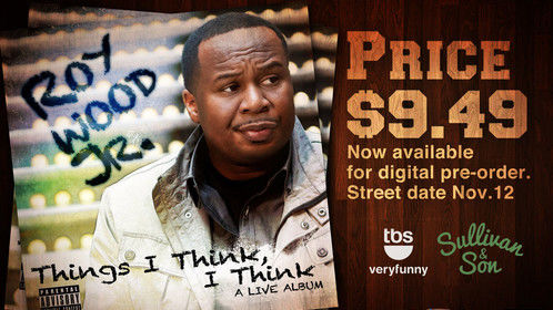 Created art work for Roy Wood Jr Lasted standup album