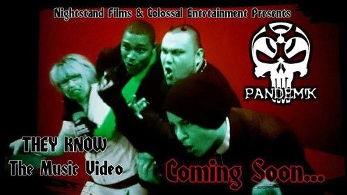 Pandem!k featuring Hooligan & MTB: They Know (Music Video)  Directed by: Joe E. Ironstand  Produced by: Chris Badiuk, Ruben Brilhante, Alison Campeau, Jon Drezden, Joe E. Ironstand  Official Audio: http://www.youtube.com/watch?v=tvwpZrJ7Zho  Behind-the-scenes footage: http://www.youtube.com/watch?v=5zMUWC58Eg8 http://www.youtube.com/watch?v=F2bDRgpEbEg http://www.youtube.com/watch?v=j6dvBLAwGL8  For more music visit: http://reverbnation.com/pandemk http://reverbnation.com/colossalentertainment http://youtube.com/user/pandemicmonster/ http://youtube.com/user/Pandemicals