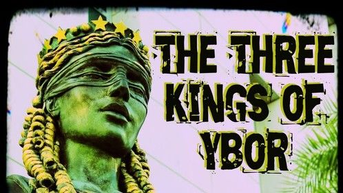 """Book cover for """"The Three Kings of Ybor - Vol. 4: August the 18th"""""""