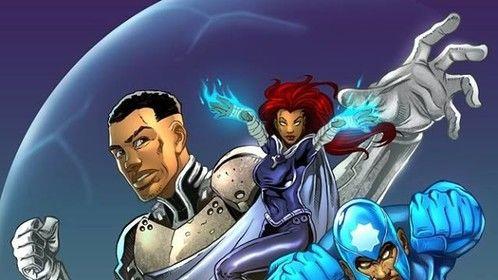 HERO BORN Comic Written & Created by Robert Garrett