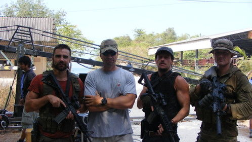 Me and the Boys of Strike Back season Five. IT was a pleasure to work with these Gents. Thanks to Paul Hornsby and the Gents for letting me play on the team.