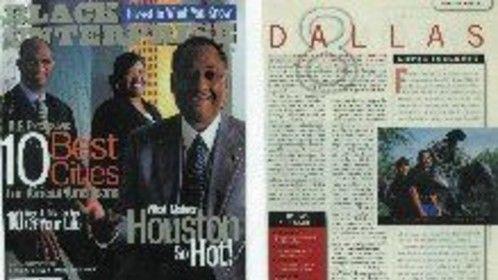 Producer, Director, Writer, Camera Opp: JULY/2001: Deborah A Gibson [Moreland] Represent Dallas, TX (#8 City) Black Enterprise [10 Best Cities for African American Entrepreneurs] Pg79