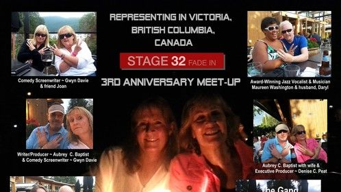 Great meet-up in Victoria, BC, Canada with Stage32 members on August 31, 2014!  Thanks to all who turned out!