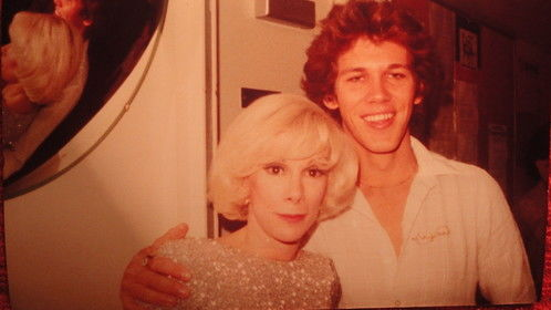 (1980) Me and Joan at the Sahara Hotel to see Bobbie Gentry.