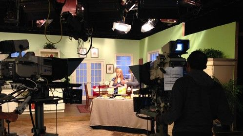Food Styling and staging on set - Live television segment Tampa, Florida