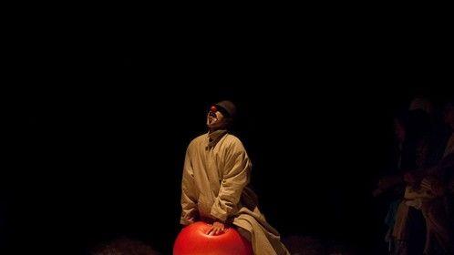 """"""" o The lo """" performance in Av Theatre (iran)"""