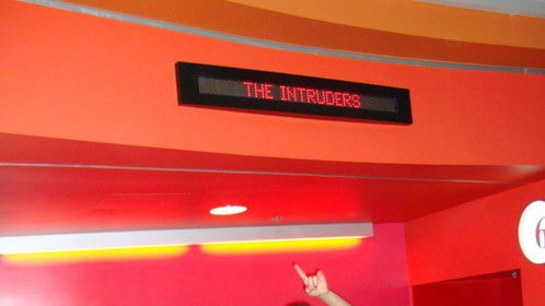"screening of ""The Intruders"""