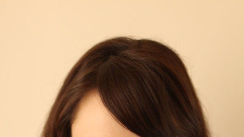 2014 - Hair down - head and shoulder
