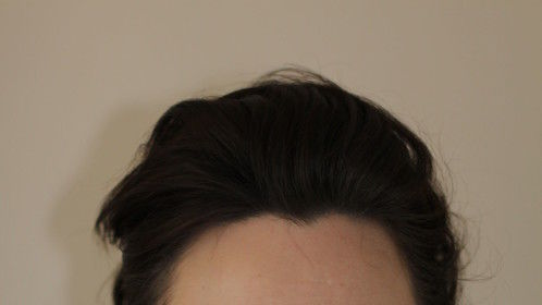 2014 - hair back - head and shoulder