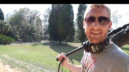 Sound Dude Brian Gumper