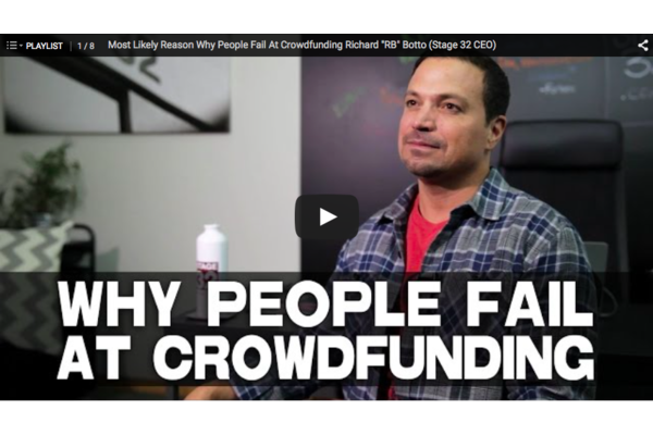 Most Likely Reason Why People Fail At Crowdfunding