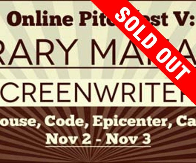 Online Pitchfest V: Literary Managers