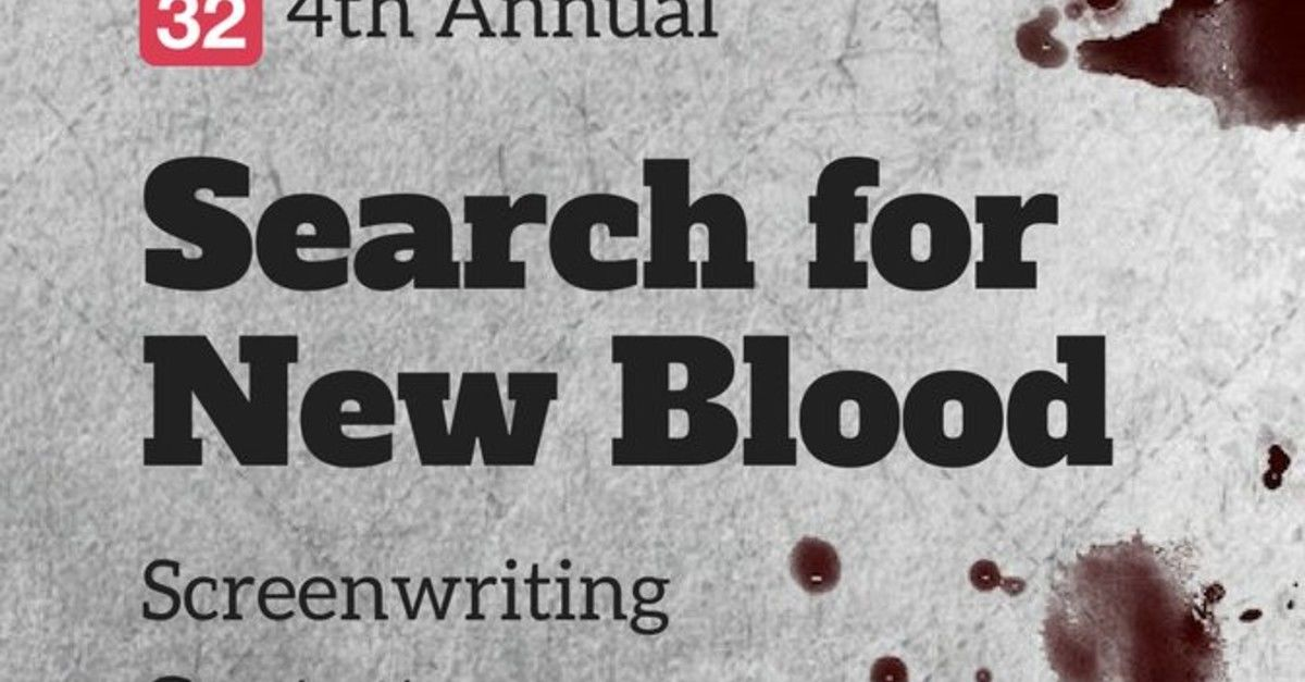 4th Annual Search For New Blood Screenwriting… - Stage 32