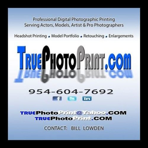 TruePhotoPrint - Bill Lowden