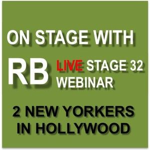On Stage With RB - 2 New Yorkers In Hollywood!